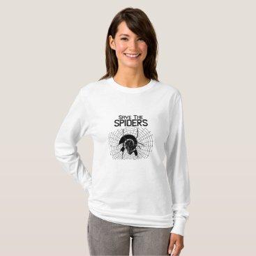 Halloween Themed Halloween Save Spiders Web Costume T-Shirt
