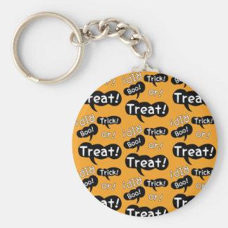 Halloween Sayings Keychain