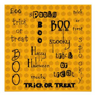 Halloween Sayings Photo Art