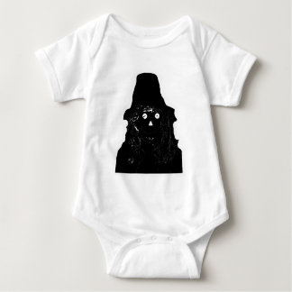Halloween Scarecrow Black The MUSEUM Zazzle Gifts Infant Creeper