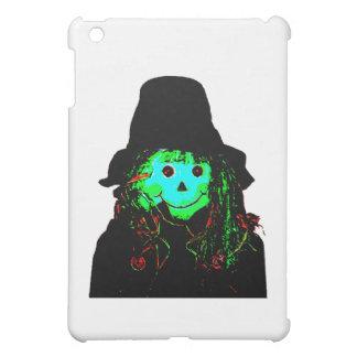 Halloween Scarecrow Cyan The MUSEUM Zazzle Gifts iPad Mini Covers