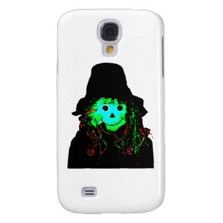 Halloween Scarecrow Cyan The MUSEUM Zazzle Gifts Samsung Galaxy S4 Covers
