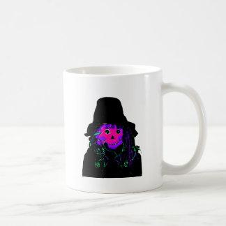 Halloween Scarecrow Magenta The MUSEUM Zazzle Gift Classic White Coffee Mug