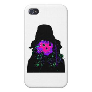 Halloween Scarecrow Magenta The MUSEUM Zazzle Gift iPhone 4 Cases