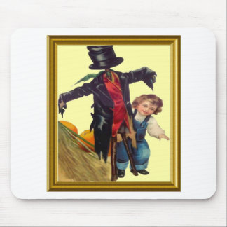 Halloween Scarecrow Mouse Pad