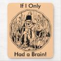 Halloween Scarecrow No Brain Mousepad mousepad
