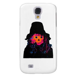 Halloween Scarecrow Orange The MUSEUM Zazzle Gifts Samsung Galaxy S4 Case