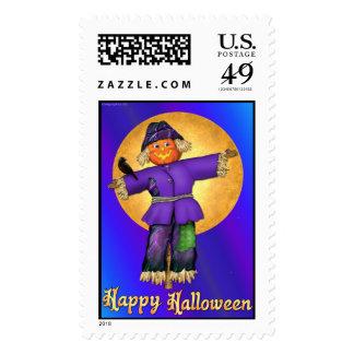 Halloween Scarecrow Stamp