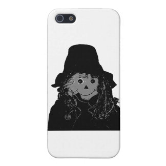 Halloween Scarecrow Silver The MUSEUM Zazzle Gifts Case For iPhone 5/5S