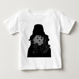 Halloween Scarecrow Silver The MUSEUM Zazzle Gifts T Shirts
