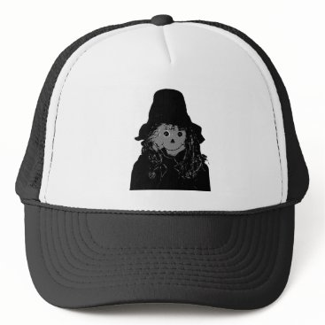 Halloween Themed Halloween Scarecrow Silver The MUSEUM Zazzle Gifts Trucker Hat