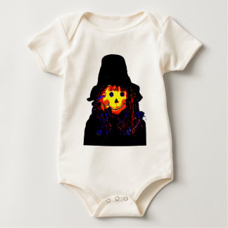 Halloween Scarecrow Yellow The MUSEUM Zazzle Gifts Baby Creeper