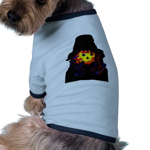 Halloween Scarecrow Yellow The MUSEUM Zazzle Gifts Pet Tshirt