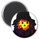 Halloween Scarecrow Yellow The MUSEUM Zazzle Gifts Magnets