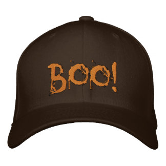 Halloween Scary Bloody Boo !!! Embroidered Hats
