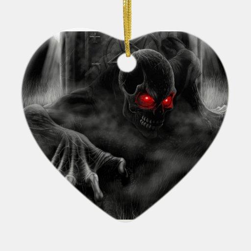 Halloween Scary Christmas Tree Ornaments