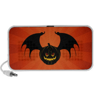 Halloween Scary Flying Pumpkin Portable Speaker