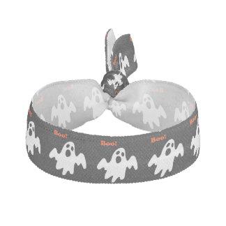 Halloween Scary Ghost Says Boo Hair Tie