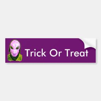 Halloween Scary Head 4 Car Bumper Sticker