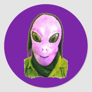 Halloween Scary Head 4 Sticker