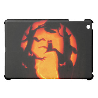 Halloween Scary Owl in Trees Case For The iPad Mini