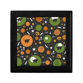 Halloween scary pattern jewelry box