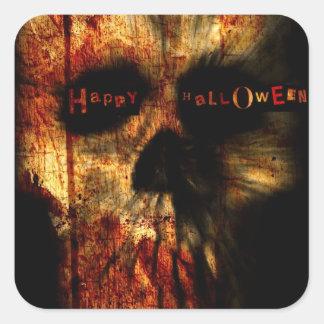 Halloween Scary Skull Stickers