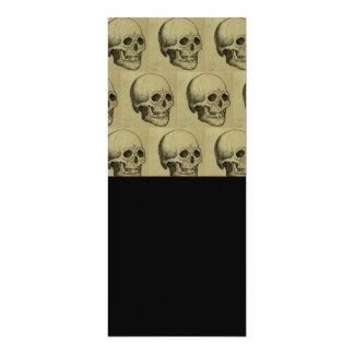 Halloween Scary Skulls Design Card