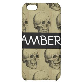 Halloween Scary Skulls Design iPhone 5C Cover