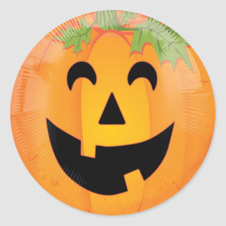 #Halloween #Scary #Smiley #Pumpkin Head #Stickers