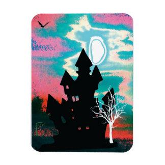 Halloween Scene 1 Magnet