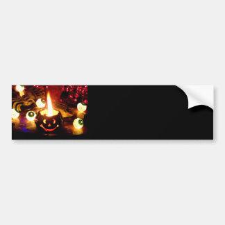 Halloween Scene Bumper Sticker