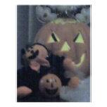 halloween scene customized letterhead