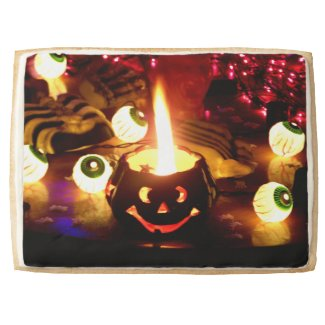 Halloween Scene Jumbo Cookie