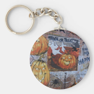 Halloween Scene Keychains