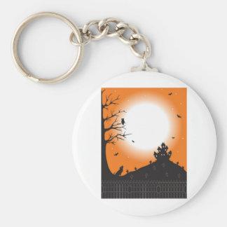 Halloween Scene Keychain