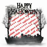 Halloween Scene Photo Frame Photo Sculpture