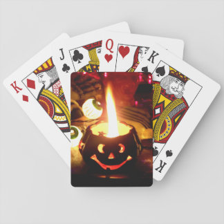 Halloween Scene Playing Cards