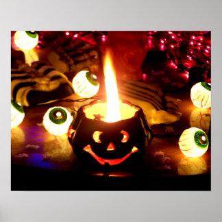 Halloween Scene Posters