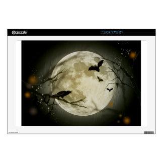 Halloween Scene Decal For Laptop