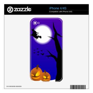 Halloween Scene Decals For The iPhone 4S