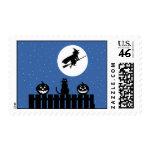 Halloween Scene Stamps