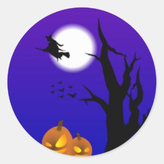 Halloween Scene Stickers