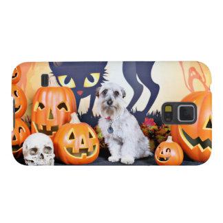 Halloween - Schnauzer - Bella Fundas De Galaxy S5