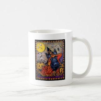 Halloween Scottie Classic White Coffee Mug