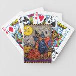 Halloween Scottie Deck Of Cards