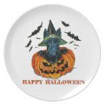 Halloween Scottie Plates