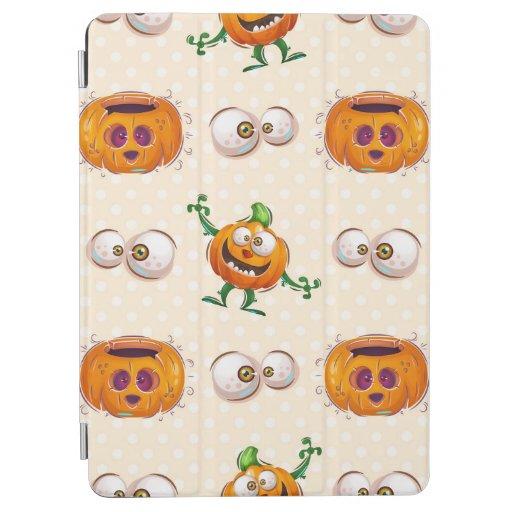 Halloween Seamless Pattern - Cute Pumpkin iPad Air Cover