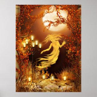 Halloween seance poster
