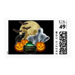 Halloween Sellos Postales